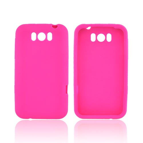 HTC Titan Silicone Case - Hot Pink
