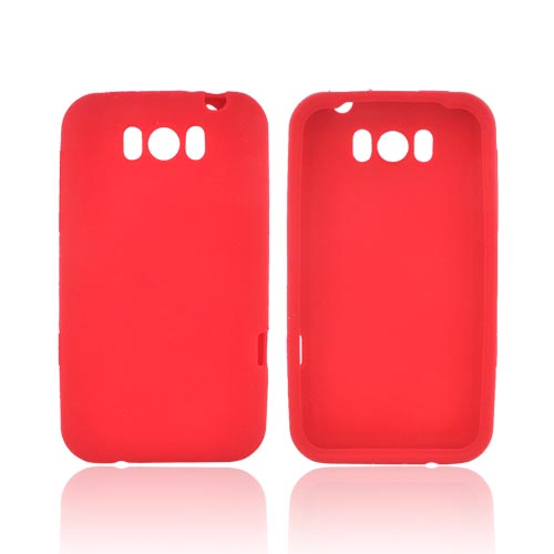 HTC Titan Silicone Case - Red
