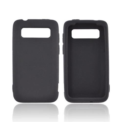 HTC Trophy Silicone Case - Black