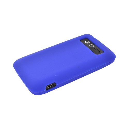 HTC Trophy Silicone Case - Blue