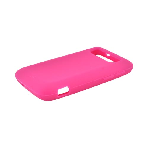 HTC Trophy Silicone Case - Hot Pink