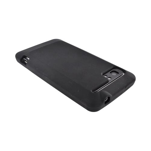 HTC Vivid Silicone Case - Black