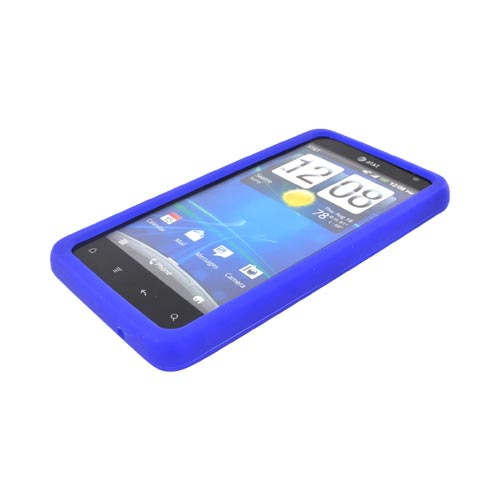 HTC Vivid Silicone Case - Blue