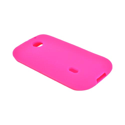 AT&T Fusion U8652 Silicone Case - Hot Pink