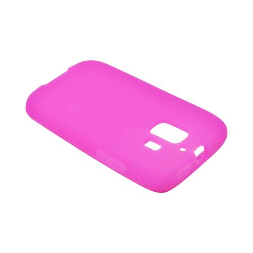 AT&T Huawei Fusion 2 U8665 Silicone Case - Hot Pink