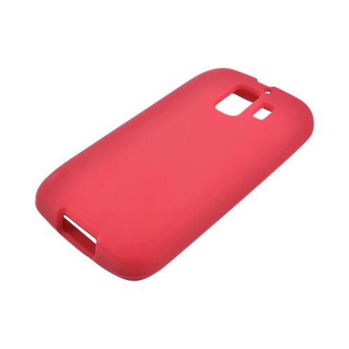 AT&T Fusion 2 U8665 Silicone Case - Red