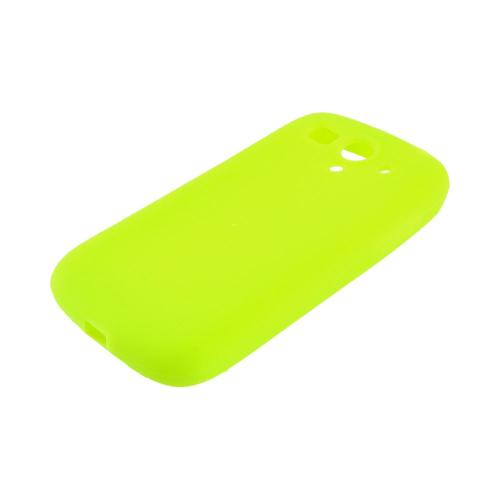 T-Mobile Huawei myTouch 2 Silicone Case - Neon Green