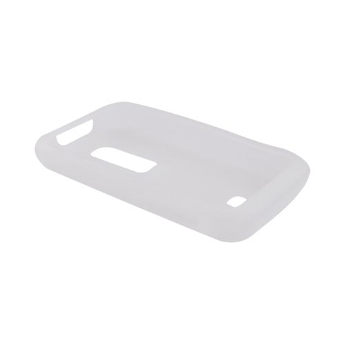 Huawei Ascend M860 Silicone Case - Textured Frost White