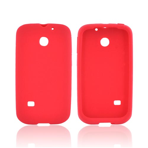Huawei Ascend 2/ Prism/ Summit M865 Silicone Case - Red