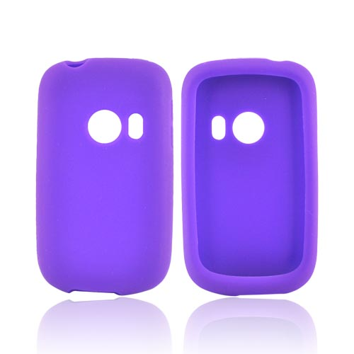 T-Mobile Comet U8150 Silicone Case - Purple