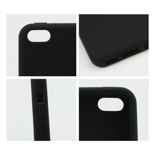 Black Silicone Skin Case for Apple iPhone 5C