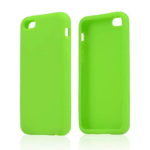 Neon Green Silicone Skin Case for Apple iPhone 5C