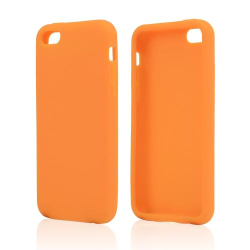 Orange Silicone Skin Case for Apple iPhone 5C