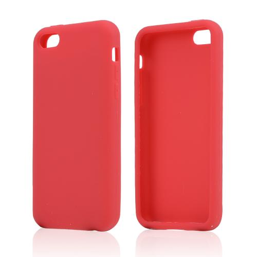 Red Silicone Skin Case for Apple iPhone 5C