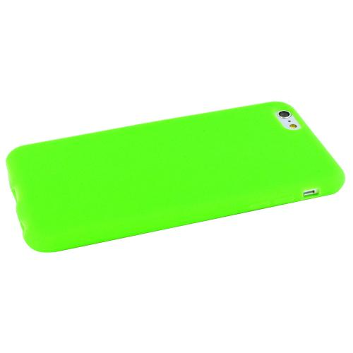 Apple iPhone 6 PLUS/6S PLUS (5.5 inch) Skin [neon Green] Protective Bumper Case W/ Flexible Tpu Impact Resistant Material Perfect Fitting Apple iPhone 6 PLUS/6S PLUS (5.5 inch)Case]