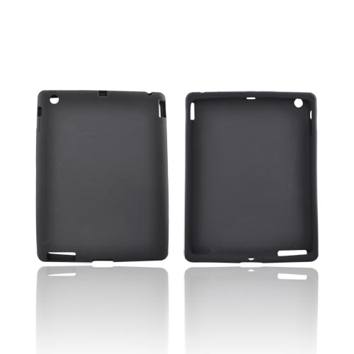 Apple iPad 2/ New iPad Silicone Case - Black
