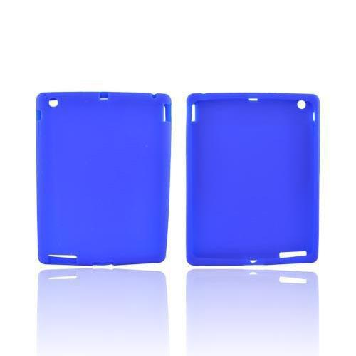 Blue Silicone Skin Case for Apple iPad 2/3/4