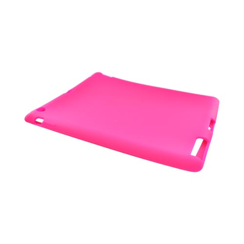 Apple iPad 2/ New iPad Silicone Case - Hot Pink