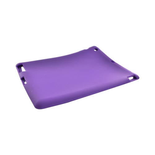 Apple iPad 2/ New iPad Silicone Case - Purple