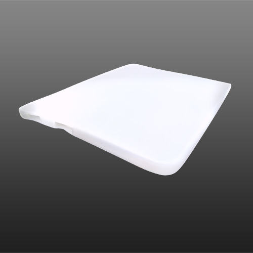 Apple iPad (1st Gen) 1st Silicone Case, Rubber Skin - Frost White