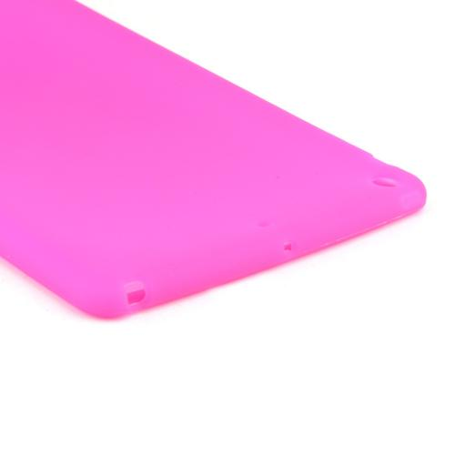 Hot Pink Silicone Skin Case for Apple iPad Air