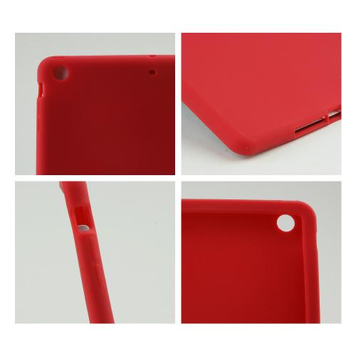 Red Silicone Skin Case for Apple iPad Air