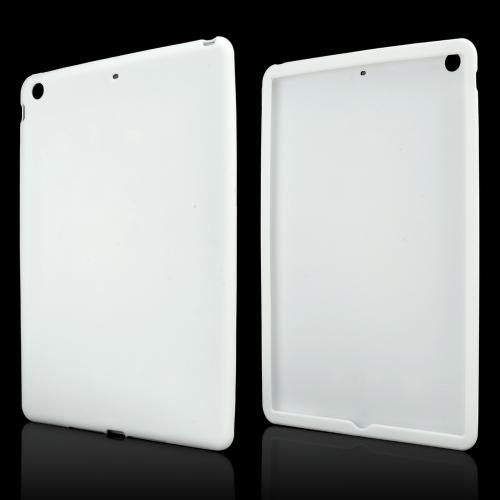 White Silicone Skin Case for Apple iPad Air