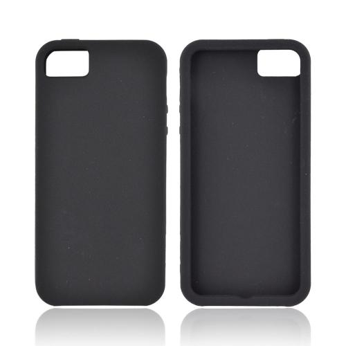 Apple iPhone 5/5S Silicone Case - Black