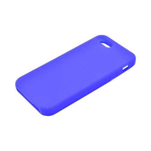 Apple iPhone 5/5S Silicone Case - Blue