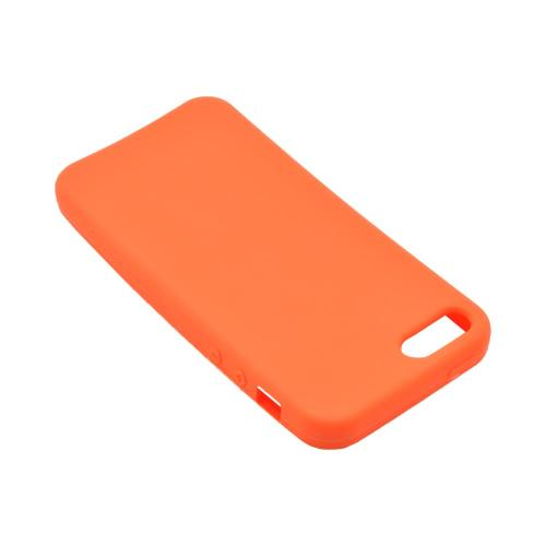 Apple iPhone 5/5S Silicone Case - Orange