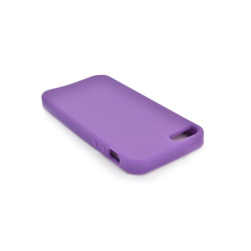 Apple iPhone 5/5S Silicone Case - Purple