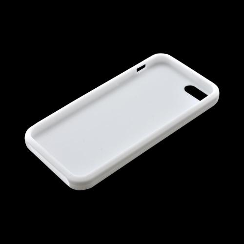 Apple iPhone 5/5S Silicone Case - White