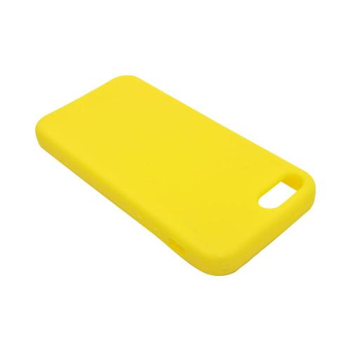 Apple iPhone 5/5S Silicone Case - Yellow