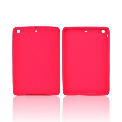Red Silicone Skin Case for Apple iPad Mini/ iPad Mini 2