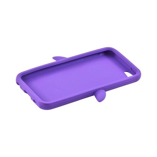 Apple iPod Touch 5 Silicone Case - Purple Penguin