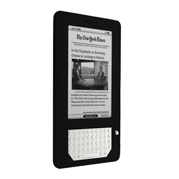 Amazon Kindle 2 Silicone Case, Rubber Skin - Black