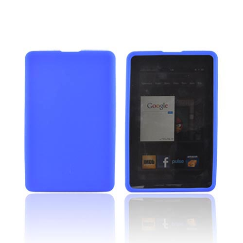 Amazon Kindle Fire Silicone Case - Blue