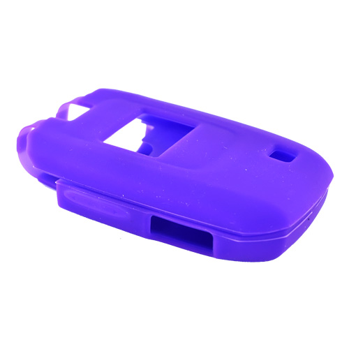 LG Helix AX310/UX310 Silicone Case, Rubber Skin - Purple