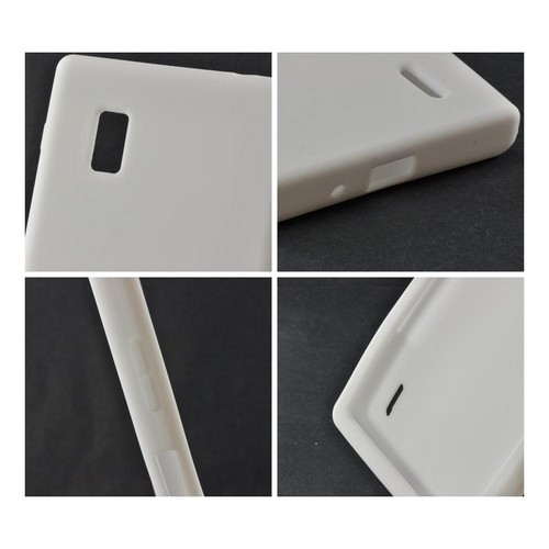 White Silicone Case for LG Optimus G (AT&T)