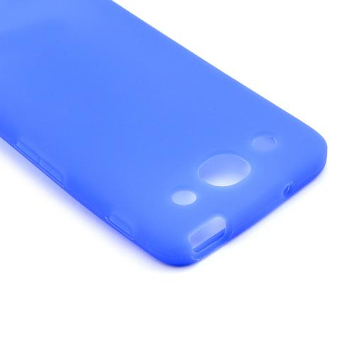 Blue Silicone Case for LG Optimus G Pro