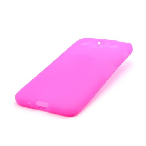 Hot Pink Silicone Case for LG Optimus G Pro