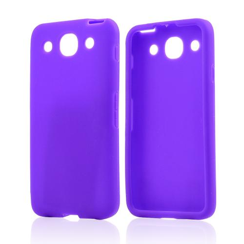 Purple Silicone Case for LG Optimus G Pro