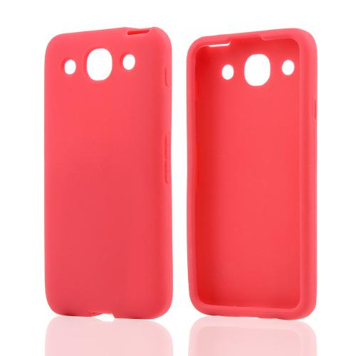 Red Silicone Case for LG Optimus G Pro