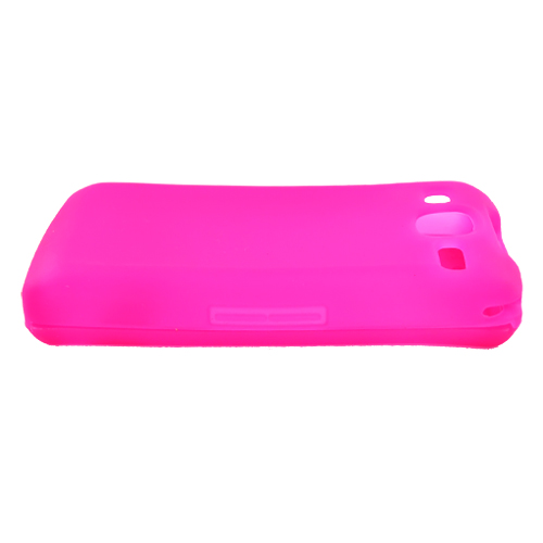 LG eXpo GW820 Silicone Case, Rubber Skin - Hot Pink