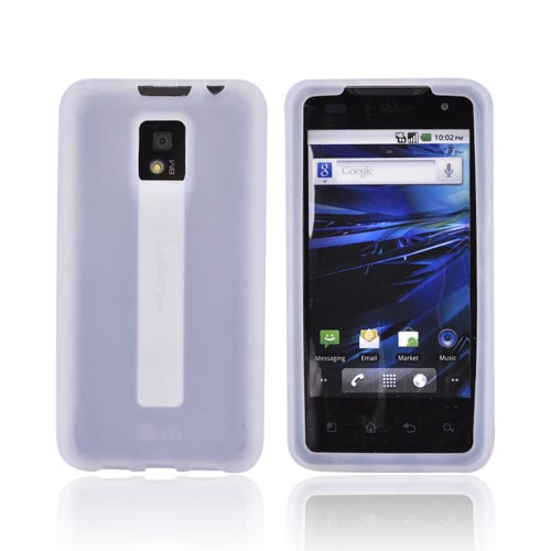 T-Mobile G2X Silicone Case - Frost White