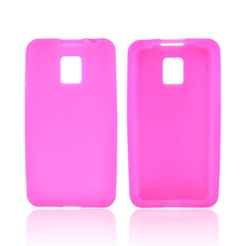 T-Mobile G2X Silicone Case - Hot Pink