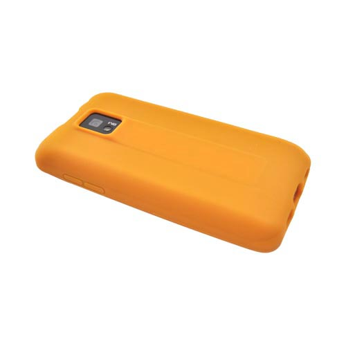 T-Mobile G2X Silicone Case - Orange