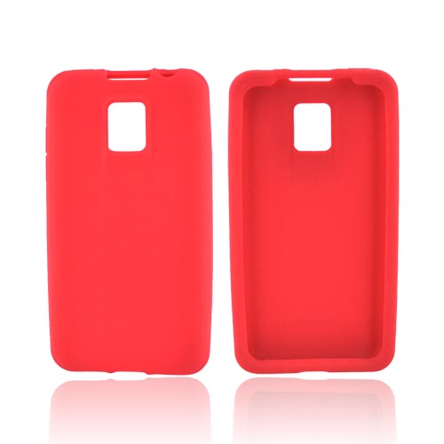 T-Mobile G2X Silicone Case - Red