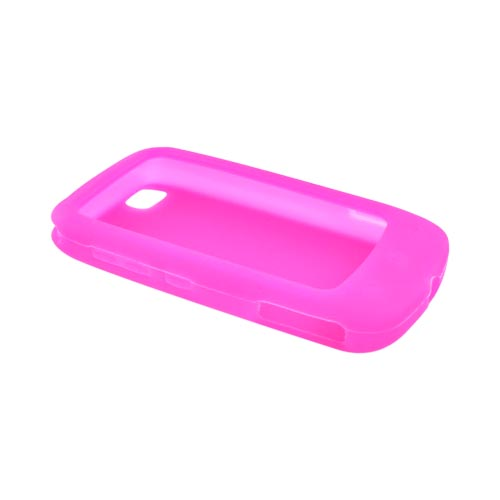 Luxmo LG Sentio GS505 Silicone Case - Hot Pink