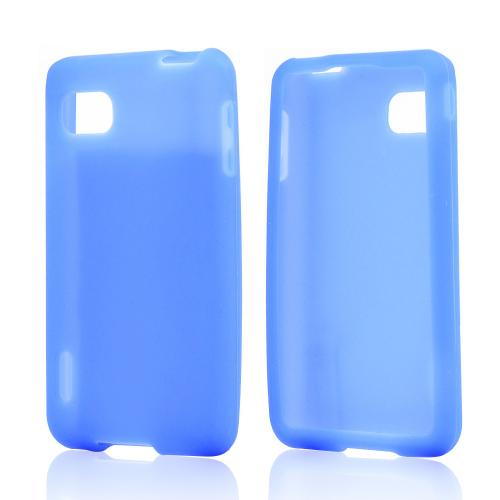 Blue Silicone Case for LG Optimus F3